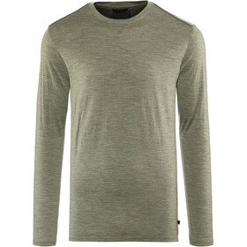 Alchemy Equipment 180GSM Single Merino Longsleeve Crew Jersey Heren, gunmetal marle